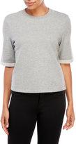 Earnest Sewn Alex Short Sleeve Crop Sweatshirt