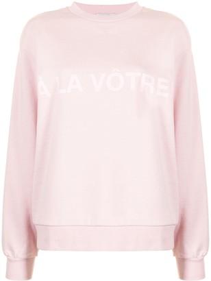 Rebecca Vallance A La Votre sweatshirt