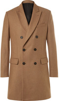 Ami - Slim-fit Double-breasted Wool-blend Coat