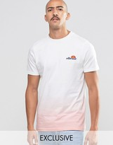 Ellesse T-Shirt In Dip Dye