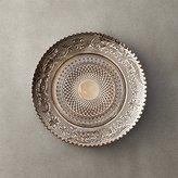 CB2 Devi Bronze Glass Appetizer Plate