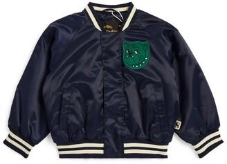 Mini Rodini Bulldog Baseball Jacket (1.5-11 Years)