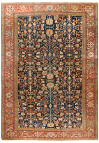 Safavieh Persian Farahan c. 1890 Hand-Knotted Wool Rug