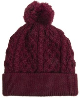 Asos Bobble Beanie Hat in 100% British Wool