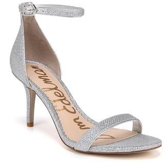 Sam Edelman Patti Snake-Embossed Ankle Strap Sandal