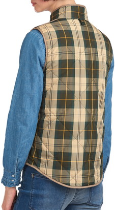 Barbour Mayapple Quilted Plaid Gilet Vest