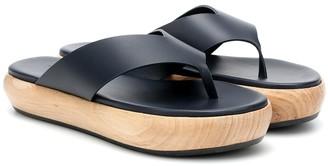 Neous Erycina leather platform sandals