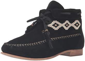 Soludos Women's Moccasin Bootie Emroidered Ankle