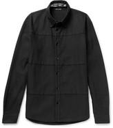 McQ Oddity Cotton-blend Twill Shirt - Black