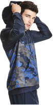 Joe Fresh Men's Camo Print Active Jacket, JF Midnight Blue (Size S)