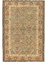 Blue Area Agra Indian Antique Rose /Light Rug Nazmiyal Collection