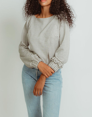 Madewell Madri Collection Crossover Sweater