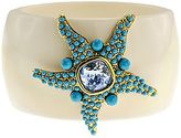 Kenneth Jay Lane FINE JEWELRY KJL by Simulated Turquoise & Aqua Crystal Starfish Bracelet