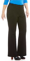 Vince Camuto Plus Bi-Stretch Flare Pants