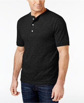 Club Room Men's Slub Cotton Henley, Only at Macy's
