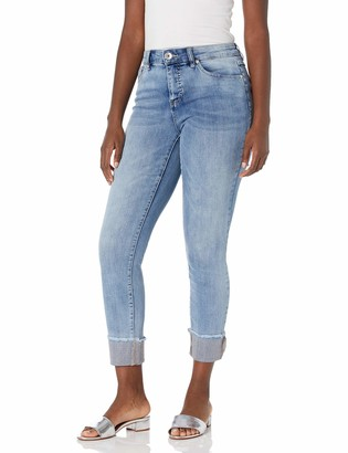 Tribal Women's Jeans Embellished Classic Skinny Pockets Rhinestrone