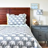 Pam Grace Creations Indie Elephant Quilt Set