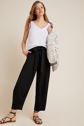 Anthropologie Frederica Cargo Harem Pants By in Black Size XS