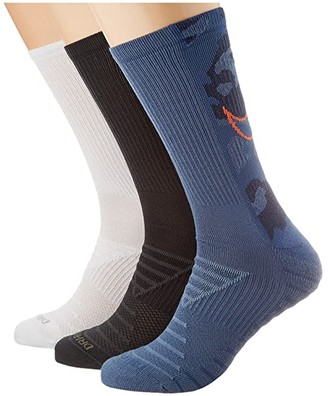 Nike Everyday Max Cushioned Socks 3-Pair Pack (Multicolor 1) Low Cut Socks Shoes