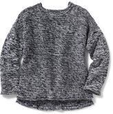Old Navy Hi-Lo Drop-Shoulder Sweater for Girls