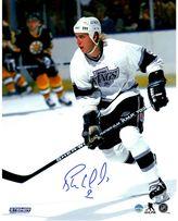 "Steiner Sports Los Angeles Kings Bernie Nicholls 8"" x 10"" Signed Photo"