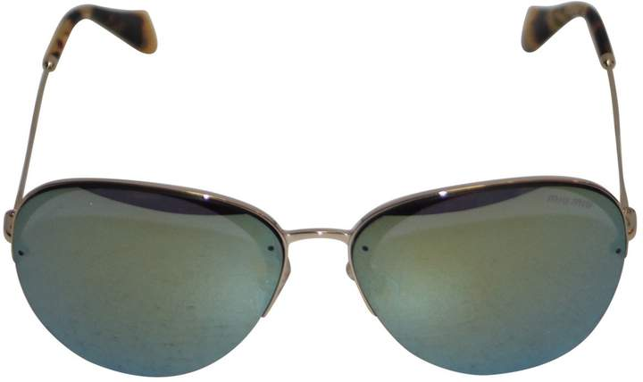 Miu Miu Aviator sunglasses