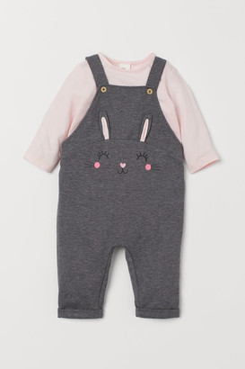 H&M Dungarees and top