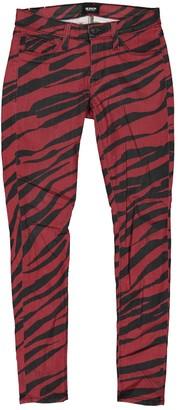 Hudson Multicolour Cotton - elasthane Jeans for Women