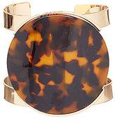 Natasha Accessories Tortoise Cuff Bracelet