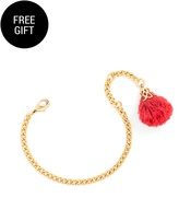 BaubleBar Shag Pom Bracelet