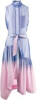 Derek Lam 10 Crosby dip dye striped dress
