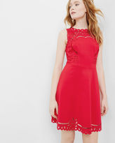 Ted Baker Cutwork skater dress