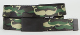 Camo Mustache Boys Web Belt