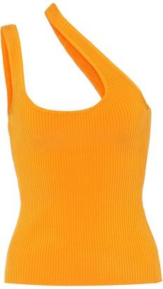 Zimmermann Brightside ribbed-knit tank top