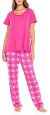 Sporto Women's S-Lrs101 Sleepwear Set