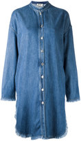 Acne Studios long denim shirt