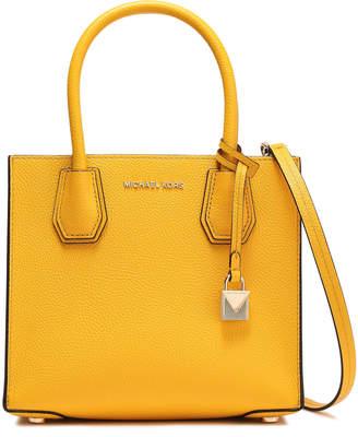 MICHAEL Michael Kors Pebbled-leather Shoulder Bag