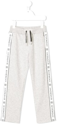Givenchy Kids branded track trousers