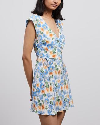 Bec & Bridge La Jolie Wrap Mini Dress