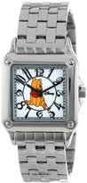 EWatchFactory Disney Women's W000468 Winnie the Pooh Perfect Square Bracelet Watch