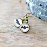 JuJu Treasures Black Bat Earrings