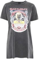 Topshop TALL Iron Maiden T-Shirt Dress