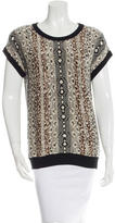 Etro Patterned Knit Top