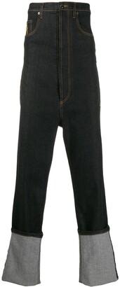 Marco De Vincenzo High Waisted Jeans
