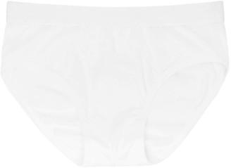 Comme des Garçons Shirt White Cotton Briefs