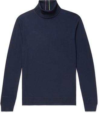 Paul Smith Merino Wool Rollneck Sweater