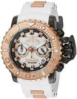 Invicta Men's 'Sea Hunter' Swiss Quartz Stainless Steel and Silicone Casual Watch