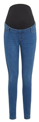 Dorothy Perkins Womens Maternity Blue Mid Wash Eden Denim Jeans, Blue