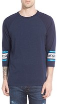 Nike Men's Sb Nepped Three Quarter Sleeve Dri-Fit T-Shirt