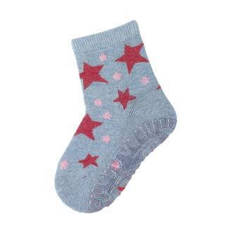 Sterntaler Girl's Glitzer-flitzer Air Sterne Calf Socks